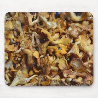 Cojín de ratón de las setas de ostra tapetes de ratones