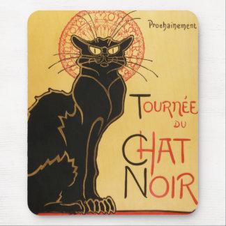 Cojín de ratón de Le Chat Noir Alfombrilla De Raton