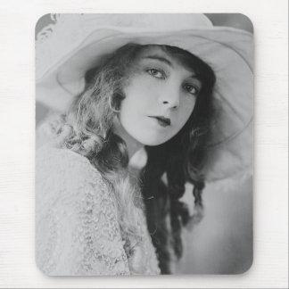 Cojín de ratón de Lillian Gish de la estrella de Alfombrilla De Ratones