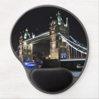 Cojín de ratón de Londres del puente de la torre Alfombrillas Con Gel