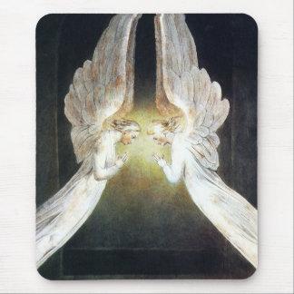 Cojín de ratón de los ángeles de Guillermo Blake Alfombrillas De Ratones
