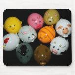 Cojín de ratón de los animales del juguete tapetes de ratón