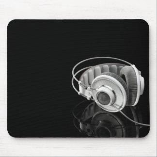 Cojín de ratón de los auriculares mousepads