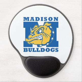 Cojín de ratón de los dogos de Madison Alfombrilla De Ratón Con Gel