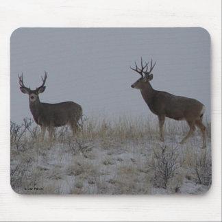 Cojín de ratón de los dólares del ciervo mula de D Tapetes De Ratones