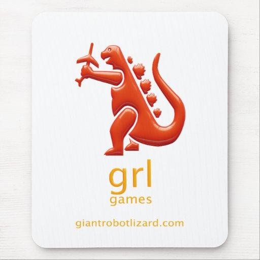 Cojín de ratón de los juegos de GRL Mousepad