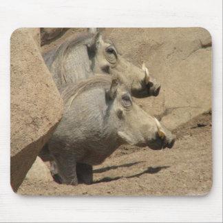 Cojín de ratón de los pares de Warthog Alfombrilla De Ratón