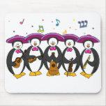 cojín de ratón de los pingüinos del mariachi tapetes de ratones