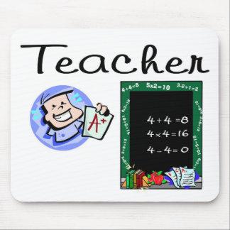 Cojín de ratón de los profesores tapetes de ratón