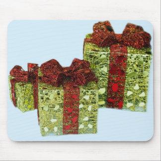 Cojín de ratón de los regalos de Navidad Tapetes De Ratones
