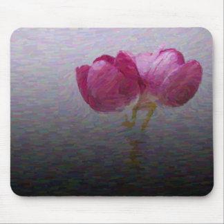 Cojín de ratón de los tulipanes de la primavera tapete de ratón