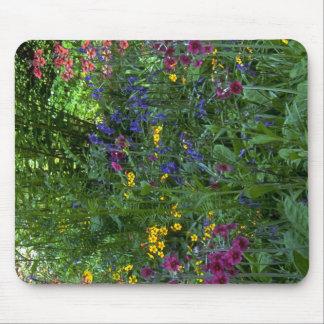 Cojín de ratón de los Wildflowers Tapetes De Raton