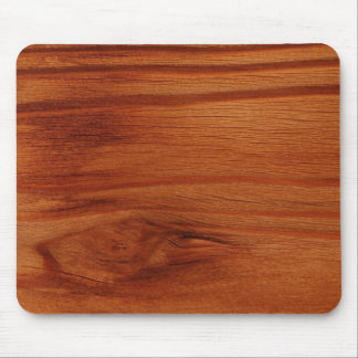 Cojín de ratón de madera del diseño tapete de raton