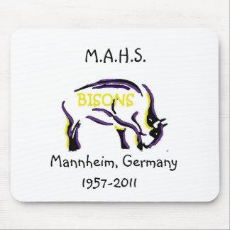 Cojín de ratón de Mannheim Tapete De Raton