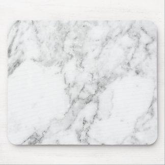 Cojín de ratón de mármol blanco y gris minimalista alfombrilla de ratones