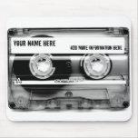 Cojín de ratón de Mixtape de la cinta de casete Tapetes De Ratones