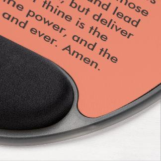 """Cojín de ratón de motivación """"de Prayer del señor"""" Alfombrilla De Raton Con Gel"""