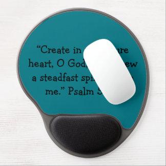 """Cojín de ratón de motivación """"de un corazón puro"""" alfombrilla de raton con gel"""
