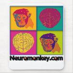 Cojín de ratón de Neuromonkey Tapetes De Raton