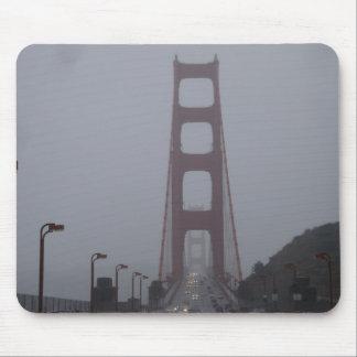 Cojín de ratón de niebla de puente Golden Gate Mouse Pads