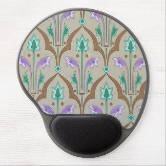 Cojín de ratón de Nouveau del arte Alfombrillas De Ratón Con Gel