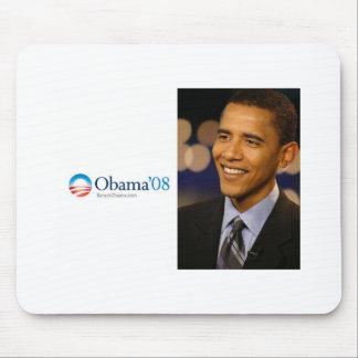 Cojín de ratón de Obama '08 Alfombrillas De Ratones