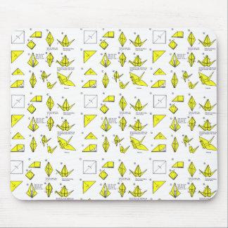 Cojín de ratón de Origami Alfombrilla De Raton