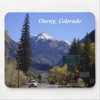 Cojín de ratón de Ouray Colorado Tapetes De Ratones
