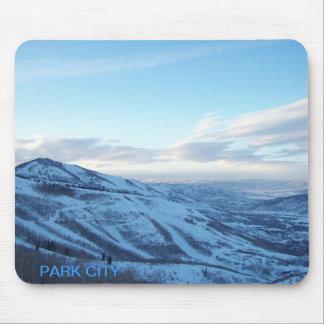 Cojín de ratón de Park City, Utah Tapetes De Raton