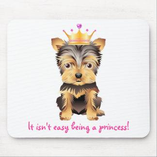 Cojín de ratón de princesa Gift del perro de jugue Tapete De Ratón