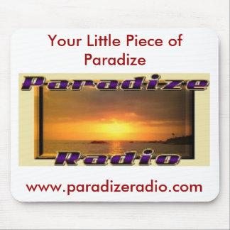 Cojín de ratón de radio de Paradize Alfombrillas De Ratones