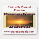 Cojín de ratón de radio de Paradize Tapete De Raton