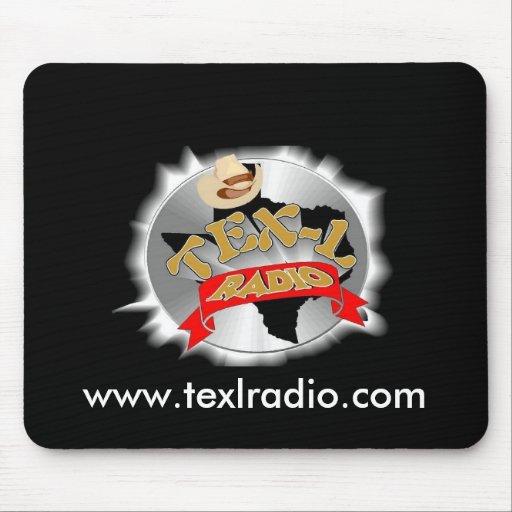 Cojín de ratón de radio de TEX-L Tapete De Ratón