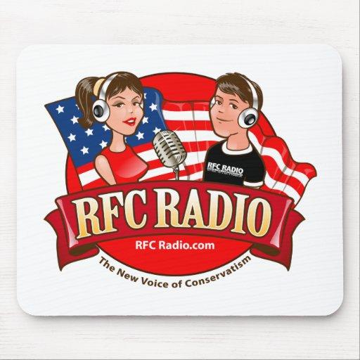 Cojín de ratón de radio del RFC Tapetes De Raton