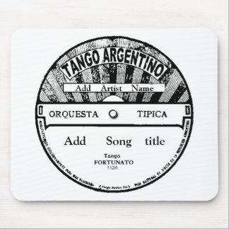 Cojín de ratón de registro de Argentino del tango Tapetes De Ratones