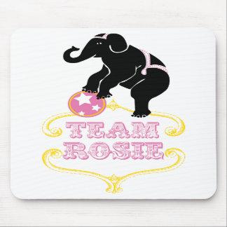 Cojín de ratón de Rosie del equipo Tapetes De Raton