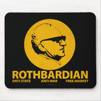 Cojín de ratón de ROTHBARDIAN Tapete De Ratones