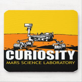 Cojín de ratón de Rover de la curiosidad Alfombrillas De Raton
