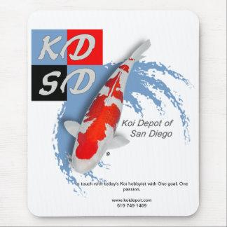 Cojín de ratón de San Diego del depósito de Koi Tapetes De Ratón