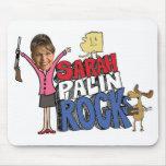 Cojín de ratón de Sarah Palin Tapetes De Ratones