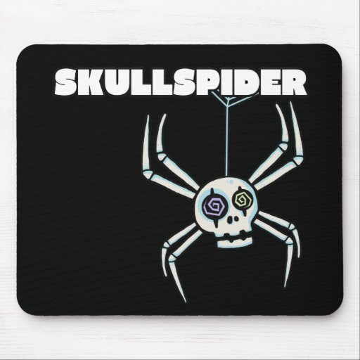 Cojín de ratón de Skullspider Tapete De Raton