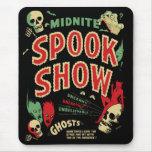 Cojín de ratón de Spookshow del vintage Alfombrilla De Ratones