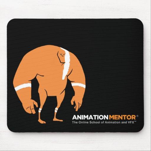 Cojín de ratón de Stan - mentor de la animación Alfombrillas De Ratón