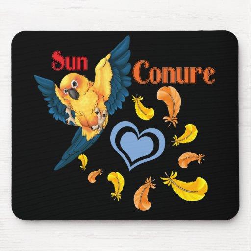 Cojín de ratón de Sun Conure Cutie Tapete De Ratones