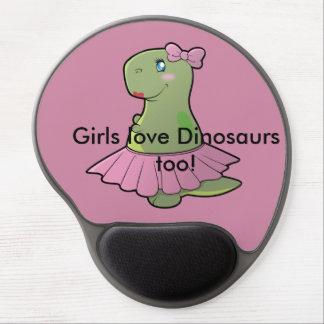 Cojín de ratón de T-Rex del dinosaurio Alfombrilla De Raton Con Gel