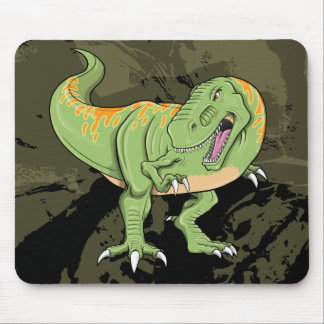Cojín de ratón de T-Rex del dinosaurio del Tyranno Mousepads
