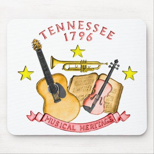 Cojín de ratón de Tennessee Tapete De Raton