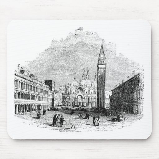 Cojín de ratón de Venecia Alfombrilla De Raton