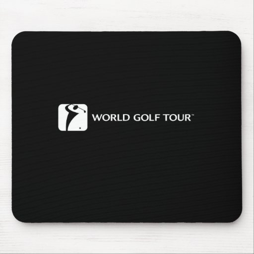 Cojín de ratón de WGT en negro Mousepad
