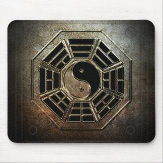 Cojín de ratón de Yin Yang Bagua Tapete De Ratones